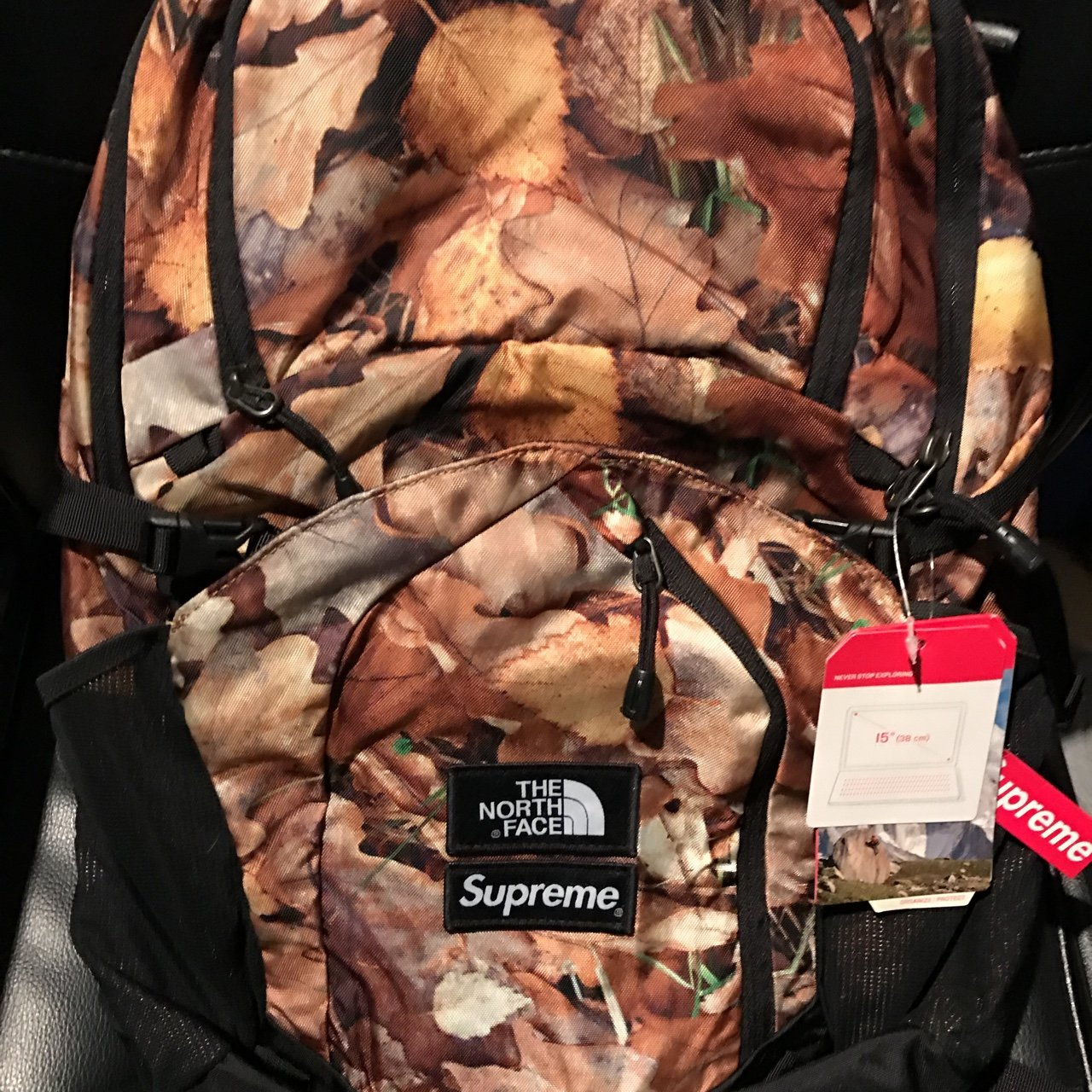 Supreme x The North Face Leaves Pocono Backpack  842d59609003