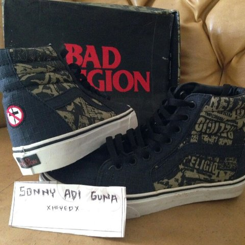 d43cb7c110 Rare vans hi bad religion condition brand new with depop jpg 480x480 Rare  vans sk8 hi