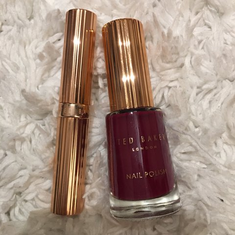 5f4c7501f995 Ted Baker Nail Polish And Lipstick Set - Absolute cycle
