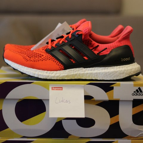 567c21699a9 ... discount adidas ultra boost solar red power red b34050. shoes are depop  68b7f 8bbf1