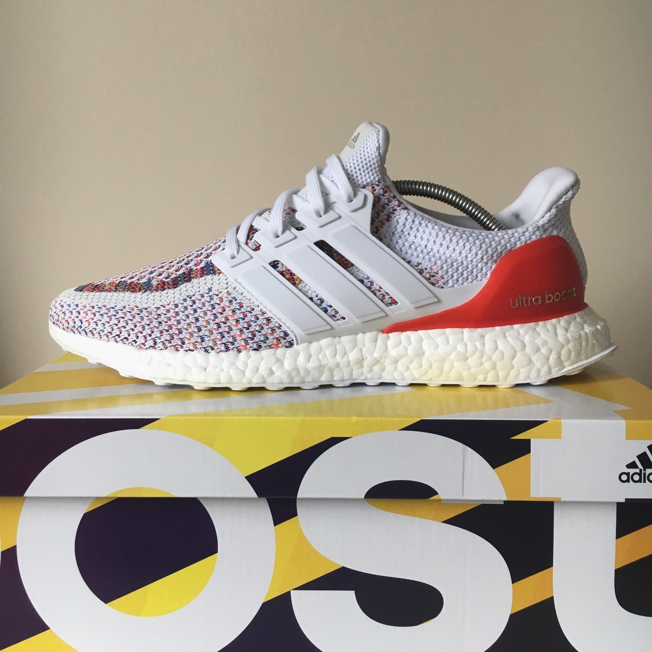 Adidas Ultra Boost 'Multicolour' DS x2 Pairs Depop