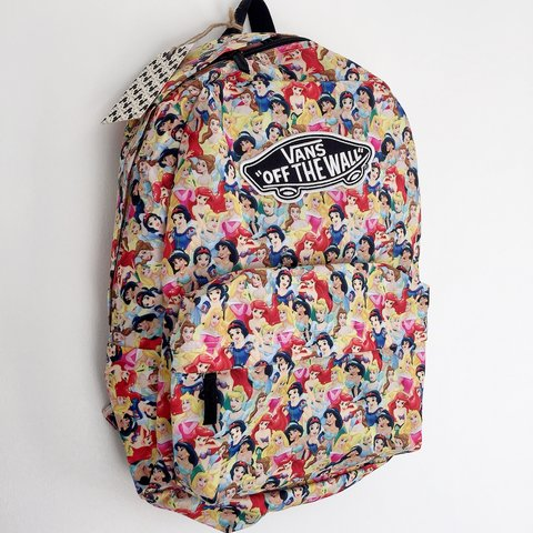 5213f6151ac34  jadejordanx. 2 years ago. United Kingdom. PRICE IS AS LISTED.. Disney Princess  x Vans Off the Wall Backpack ...