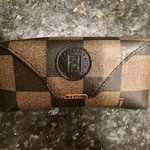 29809c1d47 BURBERRY BLACK AND GOLD SUNGLASSES.  190. Vintage Fendi Occhiali Brown  Checkered