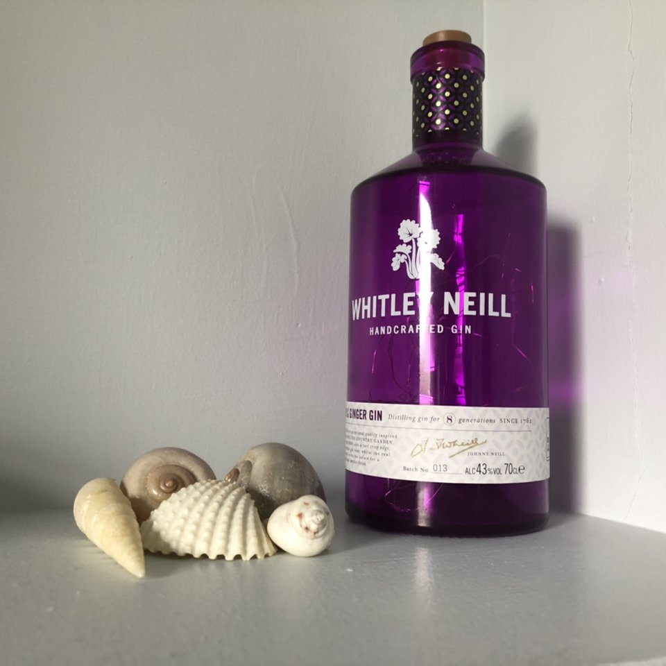 Upcycled Whitley Neill rhubarb and ginger gin Depop