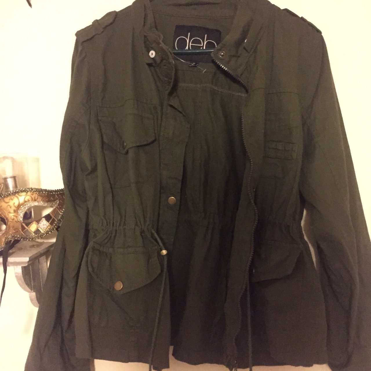 51c8e46251c10 Deb hunter green jacket. Says 1x but fits like a large - Depop