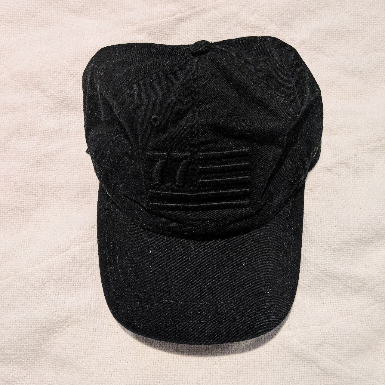 Black American Eagle Hat Shipping  4.50 black hat - Depop 7c11afc6bbf9