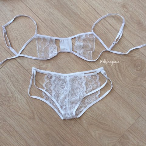 f622f2c2a9  elishagrace2015. 4 years ago. United Kingdom. Post Tomorrow Brand new in  packaging ! 🔹 Stunning cut out 2 piece lace underwear set ...