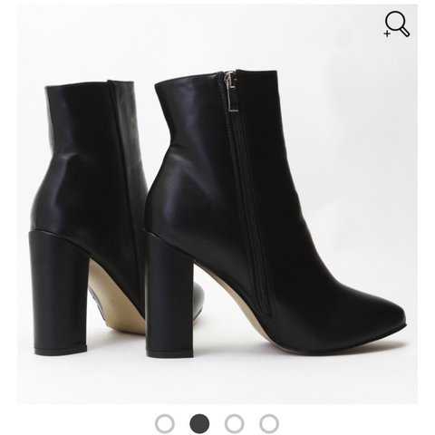 d806a295006d ON HOLD Public desire presley ankle boots in black faux Only - Depop