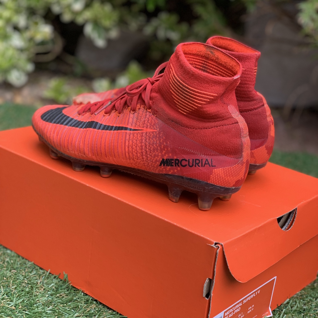 profundo Gran roble Mezquita  NIKE MERCURIAL SUPERFLY FOOTBALL BOOTS - FIRE PACK -... - Depop