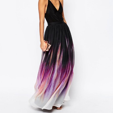 6aaf328a3 NOT SELLING* does anyone have this Asos pleated maxi skirt - Depop