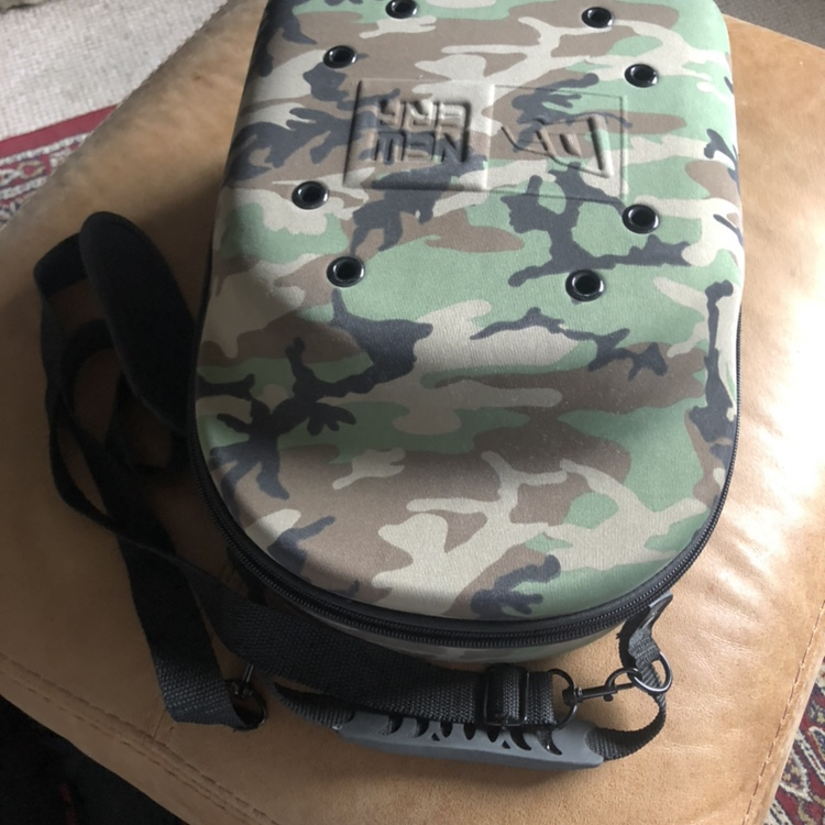 New era hat carrier Carries 6 caps Used once - Depop
