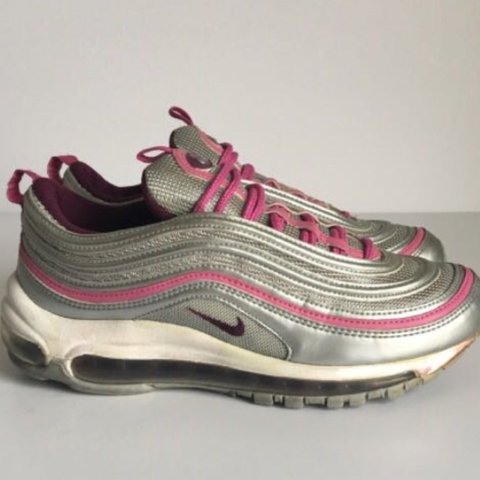 db4270b81a @isabelbrenner. 2 years ago. London, United Kingdom. Nike Air max 97 silver  and pink!! ...