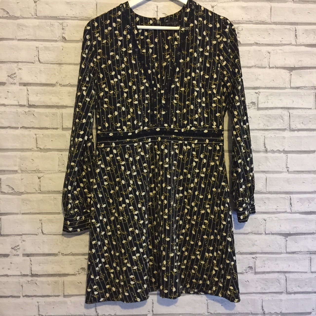 f9aa0ae6d2c TOPSHOP floral printed dress with