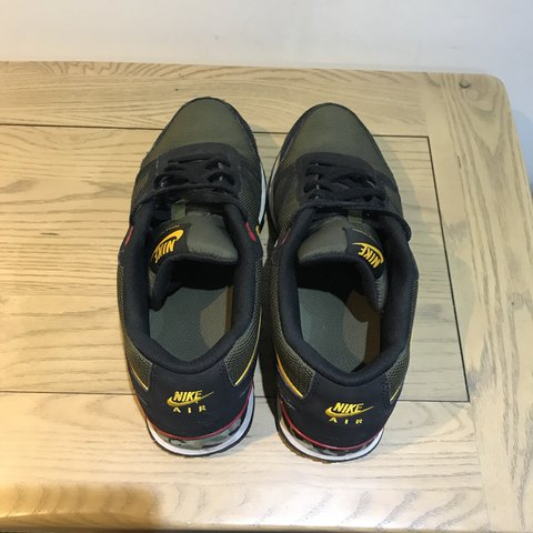 f545f15afb3 Nike air waffle trainer in size Uk 9. Really cool colour way - Depop