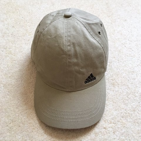a1379175 @lmdp91. 2 years ago. Watford, United Kingdom. Vintage khaki Adidas hat. Unisex  style. 💚 Condition: There's some ...