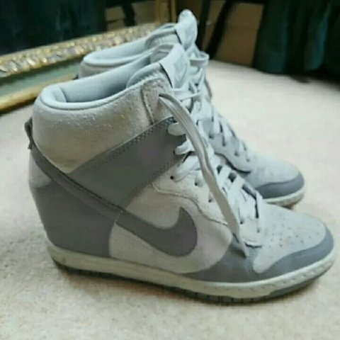 sports shoes 24f8c d555b Nike wedge shoes. Size UK- 0