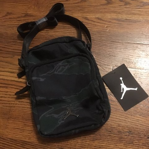 71d76ac90c386c Nike jordan Jumpman Crossbody Bag  brand new with tags  camo - Depop
