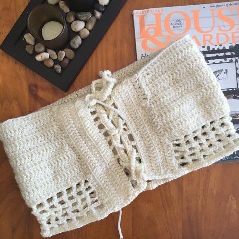 Price Reduce Handmade Crochet Boob Tube Top 80 Acrylic Depop