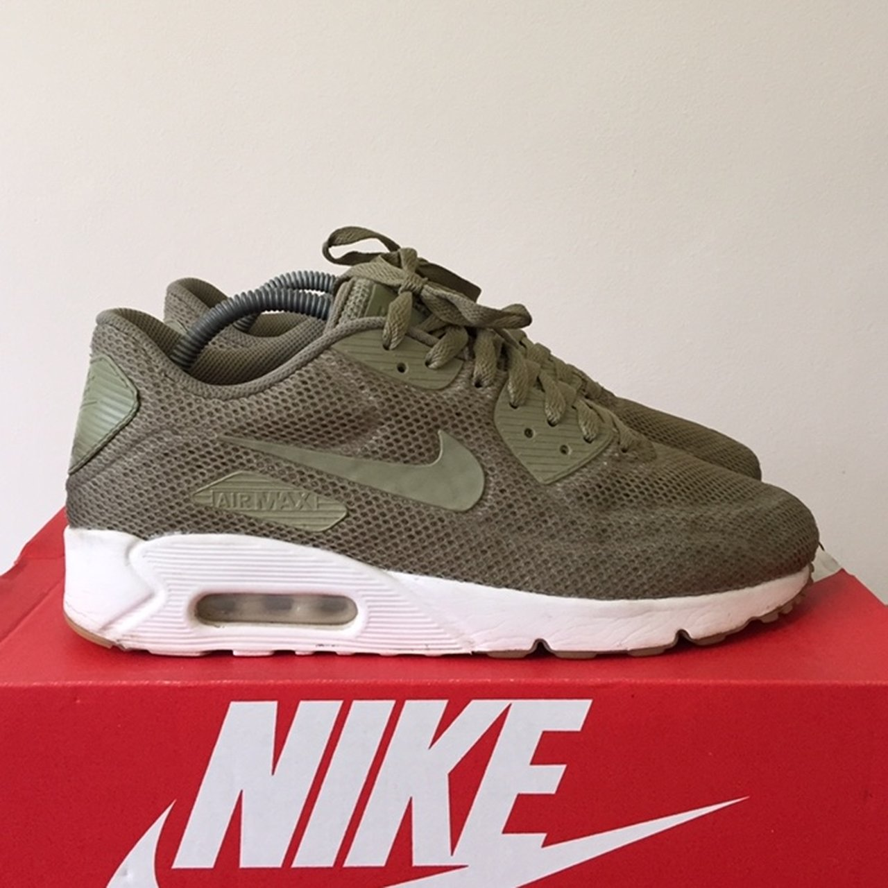 uk availability a75ce db494 marcustye77. in 40 minutes. Wolverhampton, United Kingdom. Mens Nike Air  Max 90 Ultra khaki trainers ...