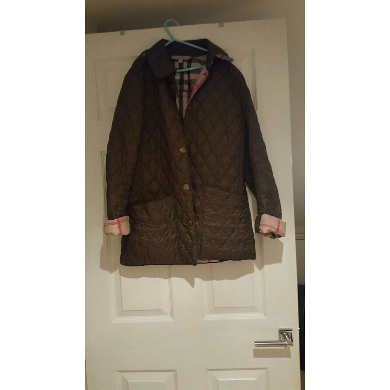 Burberry Brit Quilted Jacket Burberry Brit Depop