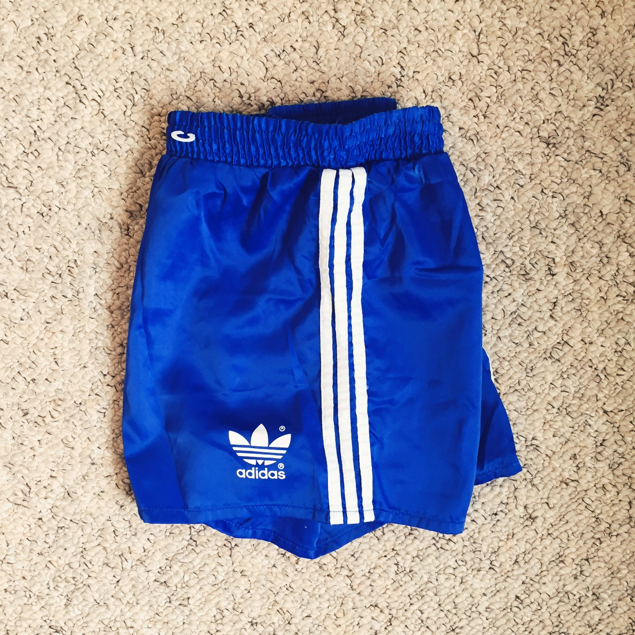 Adidas Vintage Sprinter shorts Nylon glanz
