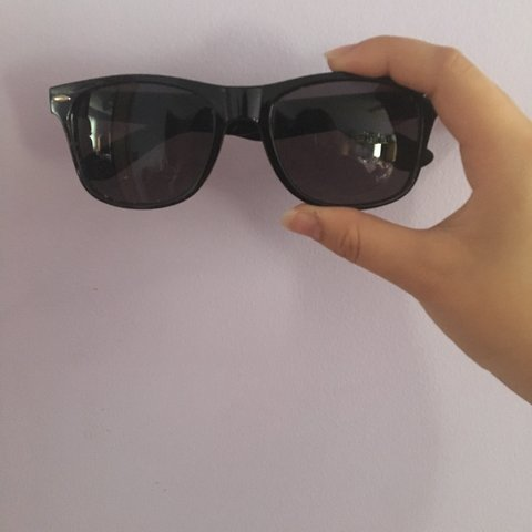 3e28bb5f9bc5e Forever U Movement black sunglasses from Warped Tour Worn a - Depop