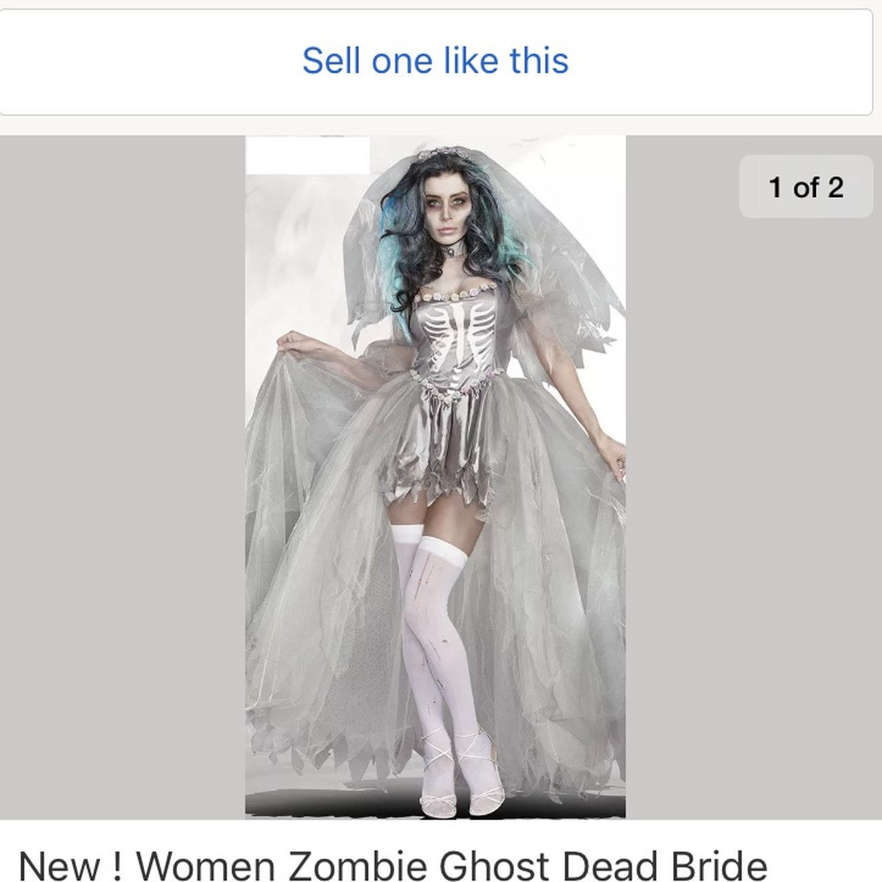 Dead Bride Halloween Costume.Listed On Depop By Laurenh91