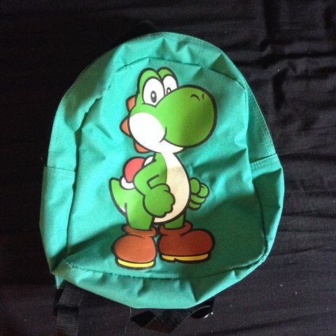Small Yoshi Backpack Super Kawaii Perfect For Summer Depop