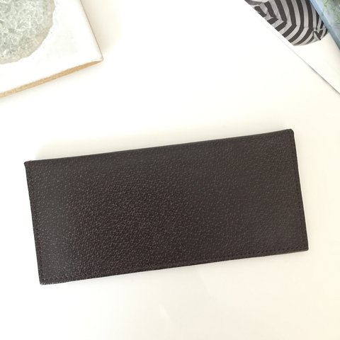 1144f6ae9322fc Vintage Gucci checkbook cover. Leather checkbook cover that - Depop