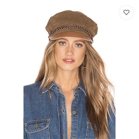 bef3c4bb6ce863 @sepheliaaa. 2 months ago. Phoenix, United States. Selling this Brixton  Kayla fiddler fisherman's cap in brown suede ...