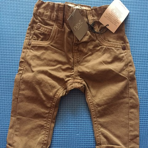 Boys' Clothing (newborn-5t) Baby Boy Trousers Size 3-6 Months