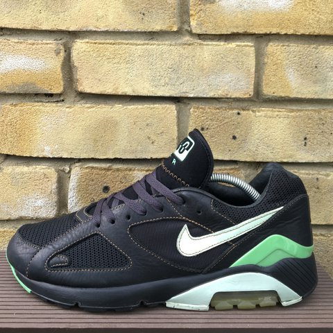 2e5663218 ONLINE NOW 🚨 - 2005 Nike Air Max 180 Poison Green 🐍 - - to - Depop