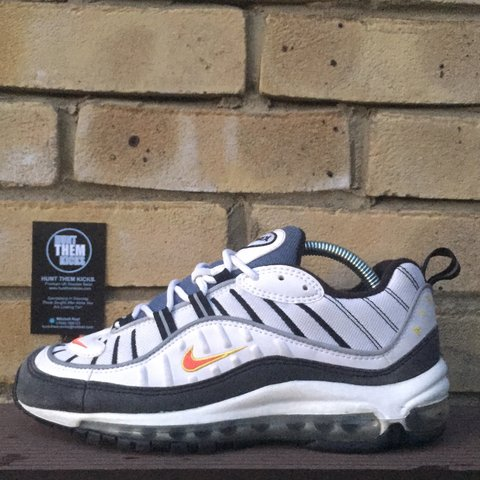 ad3c9cca46e ONLINE NOW 🚨 - 2014 Nike Air Max 98 Team Orange - UK6 US7- - Depop