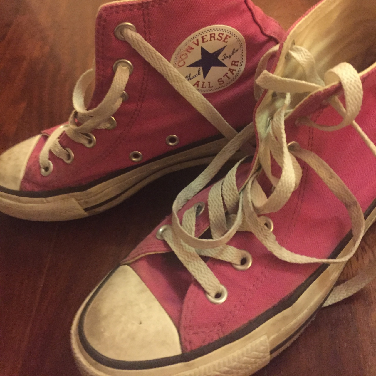 converse all star fuxia