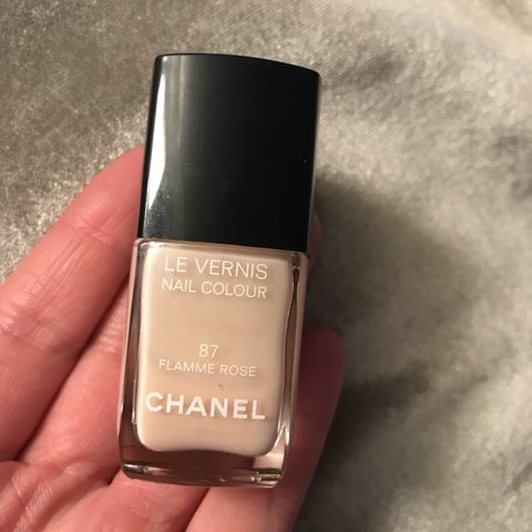Chanel nail polish in shade 87 Flamme Rose 💅🏼 Never been - Depop