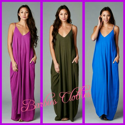 aed2aa466c Cacoon maxi dress Sexy loose fitting cozy maxi dress with - Depop