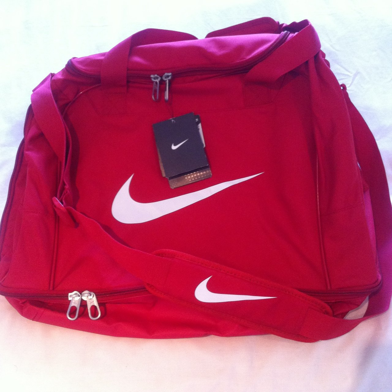 8178c22011dd Brand new with tags  Nike XL Hardcase Sports bag