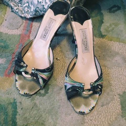 1d724cbd7d JIMMY CHOO HEELS FOR THE PRICE OF PAYLESS these vintage Choo - Depop