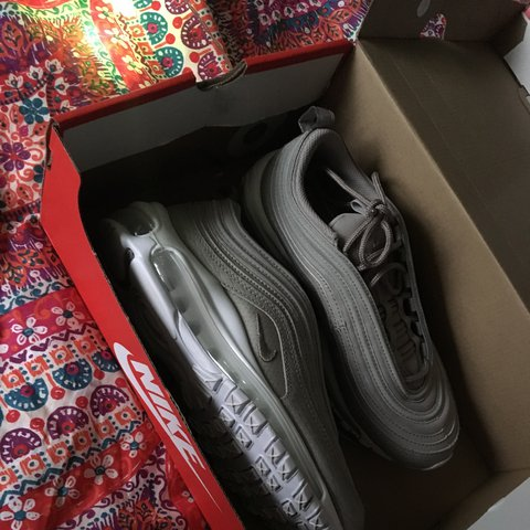 98ea87ec43c579 NIKE Air Max 97 Colour  Cobblestone white Premium. - Depop