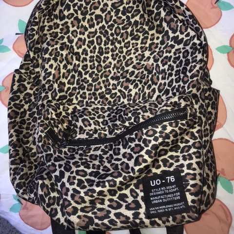 d4868627658c @xanthejenks1. 4 months ago. London, United Kingdom. Urban Outfitters  leopard print backpack ...