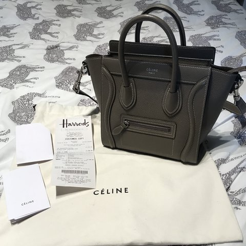 df59a731a313 @lewisxjones. last year. London, United Kingdom. Celine Nano luggage ...