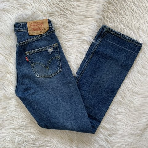 1f415427803 @commonthreads. 10 hours ago. San Antonio, United States. Vintage high  waisted Levi's 501 button fly mom jeans.