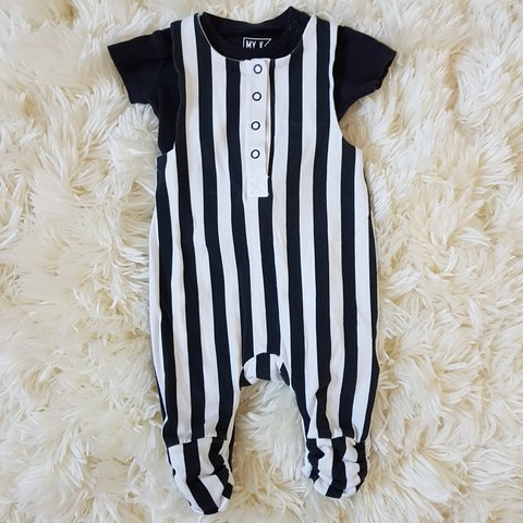 f9db9176ca53 MyK unisex body and romper set. Worn once. Perfect Up to 3 - Depop