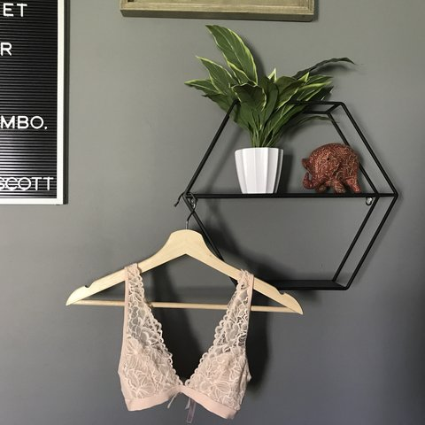7543216d011f41 Pale peach pink bralette. Too tiny for me. Only wore twice. - Depop