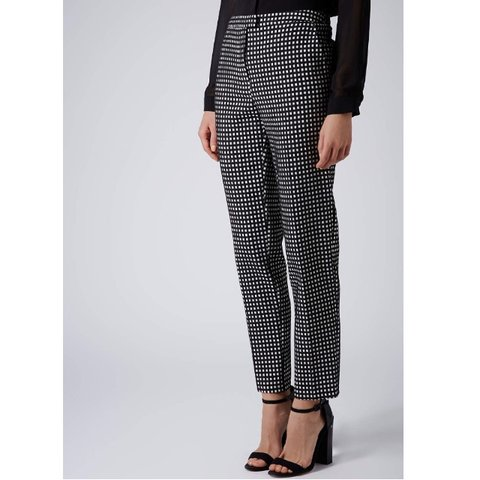 16a360eaafc1 @anna_creber. 8 months ago. Chichester, United Kingdom. Topshop gingham  fitted cigarette trousers. Petite