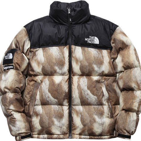 fa68c56bab WTB SUPREME X THE NORTH FACE NUPTSE JACKET ONLY IN LARGE (L) - Depop