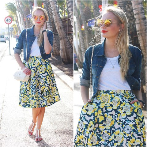 H m floral skirt opinion already