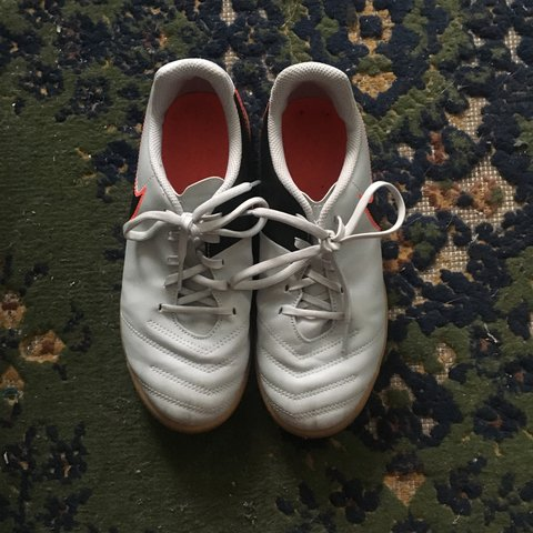 e011266b3 Nike Tempo indoor turf soccer cleats. Worn once on an turf a - Depop
