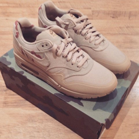 d98c2db9f20a Nike Air max 1 USA camo. Deadstock UK 8.5. Message me offers - Depop