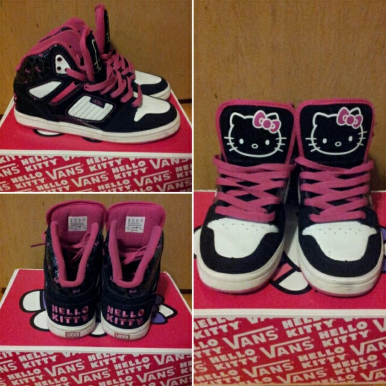 d9fed7e54b6 Limited edition Hello Kitty Vans sneakers! Worn once